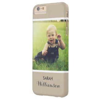 El teléfono de encargo con la familia embroma la funda para iPhone 6 plus barely there