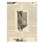 El telégrafo americano la alarma de incendio y de tarjetas postales
