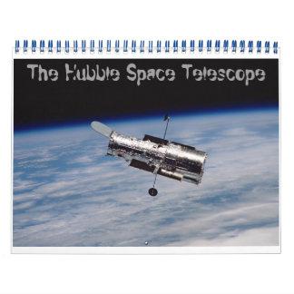 El telescopio espacial de Hubble Calendario De Pared