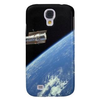 El telescopio espacial de Hubble con una tierra Funda Para Galaxy S4