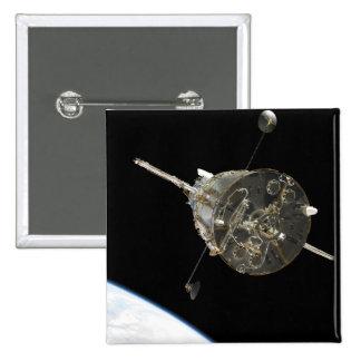 El telescopio espacial de Hubble en órbita sobre l Pin
