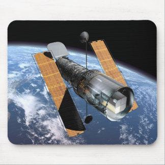 El telescopio espacial de Hubble - representación Tapetes De Raton