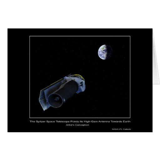 El telescopio espacial de Spitzer señala su alta g Tarjetas