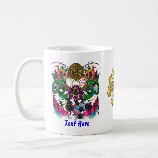 El tema de la celebración de días festivos ve por  tazas de café