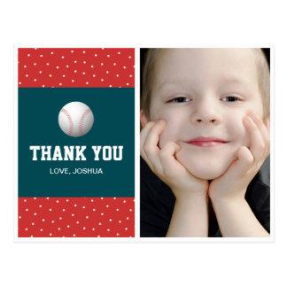El tema del béisbol le agradece postal por muchach