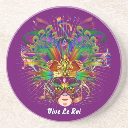 El tema del fiesta del carnaval ve por favor notas posavaso para bebida