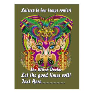El tema del fiesta del carnaval ve por favor postales