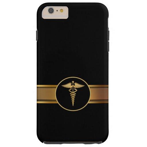 El tema médico de los hombres de lujo funda de iPhone 6 plus tough