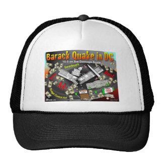 El temblor de Barack oscila DC Gorras