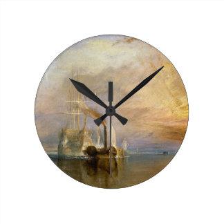 El Temeraire que lucha, 1839 Reloj Redondo Mediano