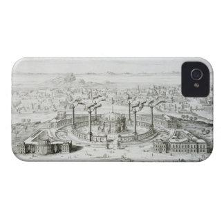 El templo copiado de un diseño en una medalla Case-Mate iPhone 4 protectores