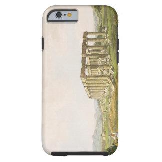 El templo de Apolo Epicurius, platea 25 de parte Funda Resistente iPhone 6