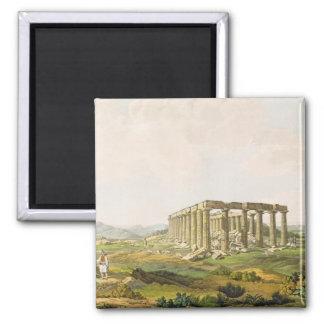 El templo de Apolo Epicurius, platea 25 de parte Imán Cuadrado