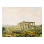 El templo de Apolo Epicurius, platea 25 de parte Tarjetas Postales