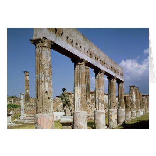 El templo de Apolo Felicitación