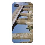 El templo de Apolo iPhone 4 Cárcasa