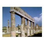 El templo de Apolo Postales