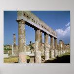 El templo de Apolo Posters