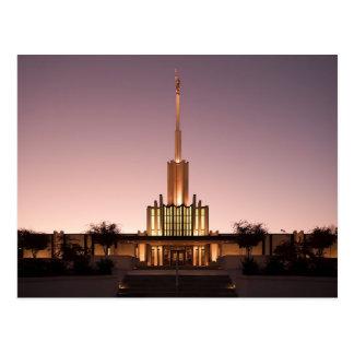 El templo de Atlanta Georgia LDS Postales