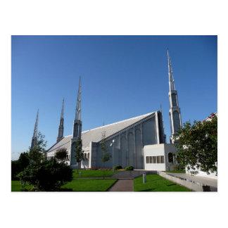 El templo de Buenos Aires la Argentina LDS Tarjeta Postal