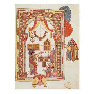 """El templo de Jerusalén de la """"biblia Tarjetas Postales"""