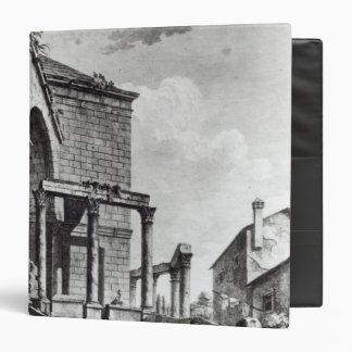 El templo de Júpiter en el palacio de