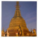 El templo de la lata de Shwe Myin, oscuridad, hace Azulejo Ceramica