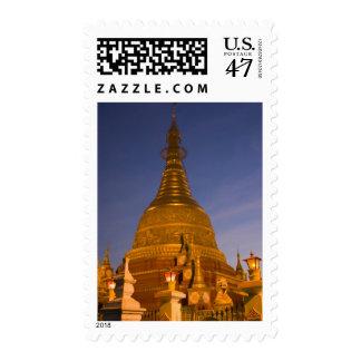 El templo de la lata de Shwe Myin, oscuridad, hace Sello