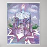 El templo de la llama púrpura poster