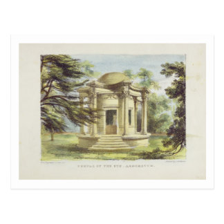 El templo de la victoria, Kew cultiva un huerto, p Postal