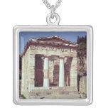 El templo de los tesoros de los atenienses pendiente personalizado