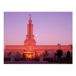 El templo de Lubbock Tejas LDS Postal