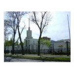 El templo de Santiago Chile LDS Postales