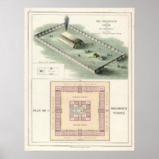 El templo de Solomon Póster