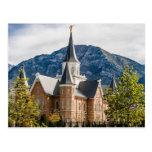 El templo de Utah LDS del centro de ciudad de Tarjetas Postales