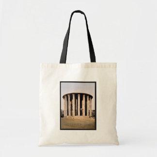 El templo de Vesta, obra clásica Photochrom de Rom Bolsa Tela Barata