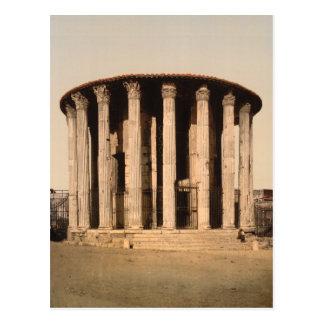 El templo de Vesta, Roma, Lazio Italia Postal