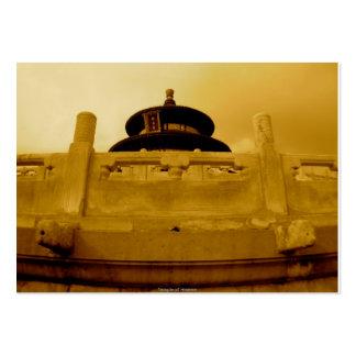 El Templo del Cielo Tarjetas De Visita Grandes
