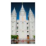El templo mormón arte fotografico