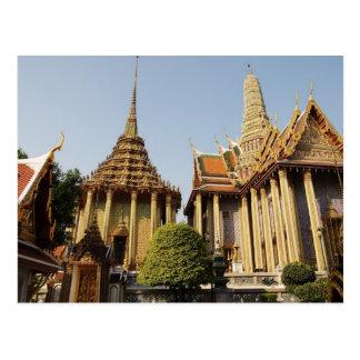 El templo real tarjeta postal