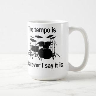 el tempo es lo que digo taza de café