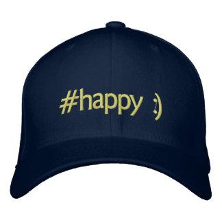 el tender feliz:) gorras de béisbol bordadas