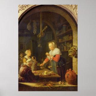 El tendero del pueblo, 1647 posters