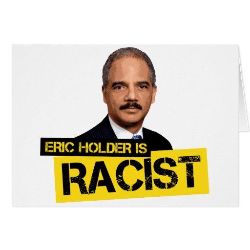 El tenedor de Eric es racista Tarjeta De Felicitación