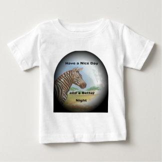 El tener de la cebra y día agradable y una mejor camisetas
