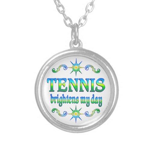 El tenis aclara colgante redondo