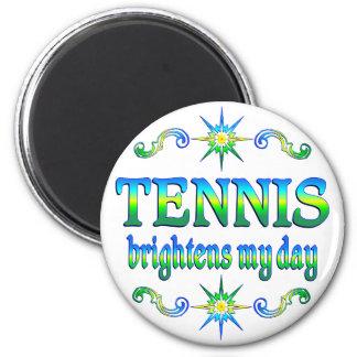 El tenis aclara imán de frigorífico