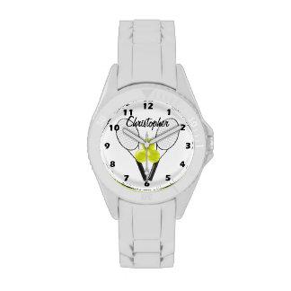 El tenis apenas añade nombre reloj de mano