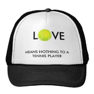 el tenis-ball, L, VE, NO SIGNIFICA NADA A UN TENIS Gorras