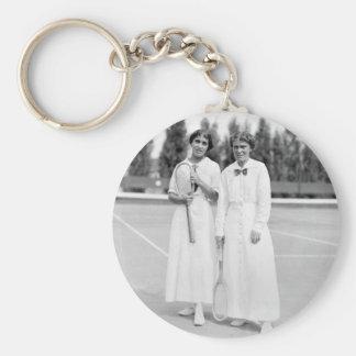 El tenis Champions, 1913 de las mujeres Llavero Personalizado